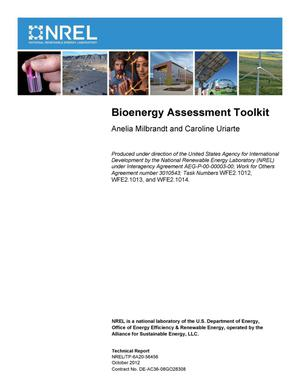 Primary view of object titled 'Bioenergy Assessment Toolkit'.