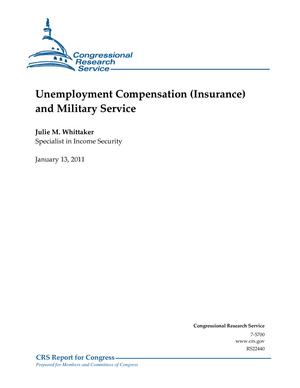 Unemployment Compensation (Insurance) and Military Service