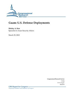 Guam: U.S. Defense Deployments