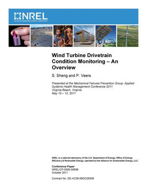 Primary view of object titled 'Wind Turbine Drivetrain Condition Monitoring - An Overview'.
