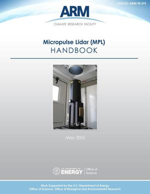 Primary view of object titled 'Micropulse Lidar (MPL) Handbook'.