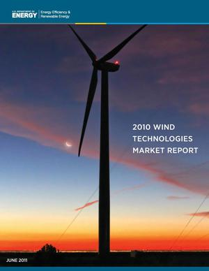 Primary view of object titled '2010 Wind Technologies Market Report'.