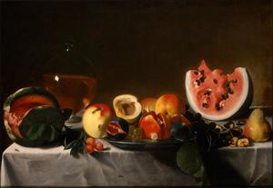 Primary view of object titled 'Still Life with Fruit and Carafe'.
