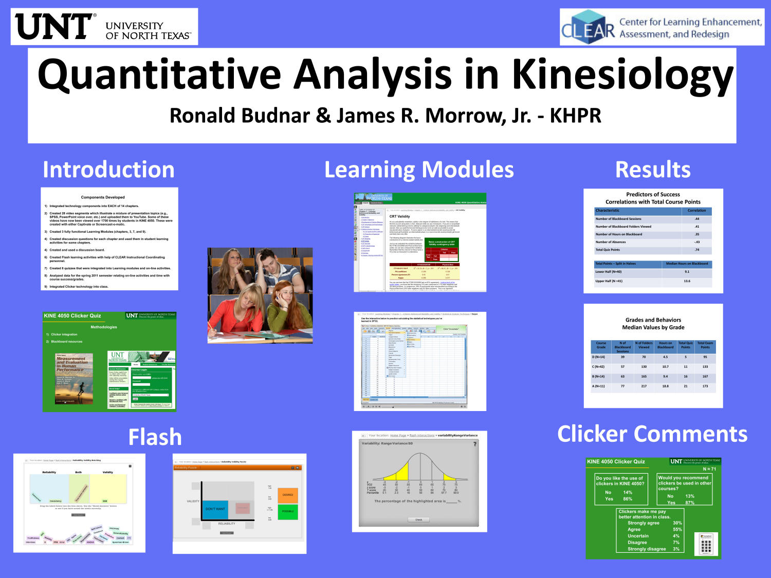 Quantitative Analysis in Kinesiology                                                                                                      [Sequence #]: 1 of 1