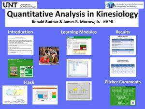 Quantitative Analysis in Kinesiology