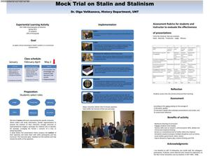 Primary view of object titled 'Mock Trial on Stalin and Stalinism'.