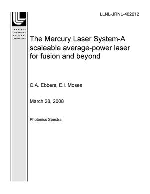 Primary view of object titled 'The Mercury Laser System-A scaleable average-power laser for fusion and beyond'.