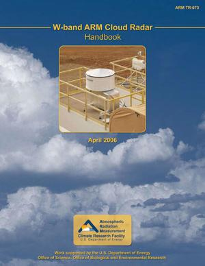 Primary view of object titled 'W-band ARM Cloud Radar (WACR) Handbook'.