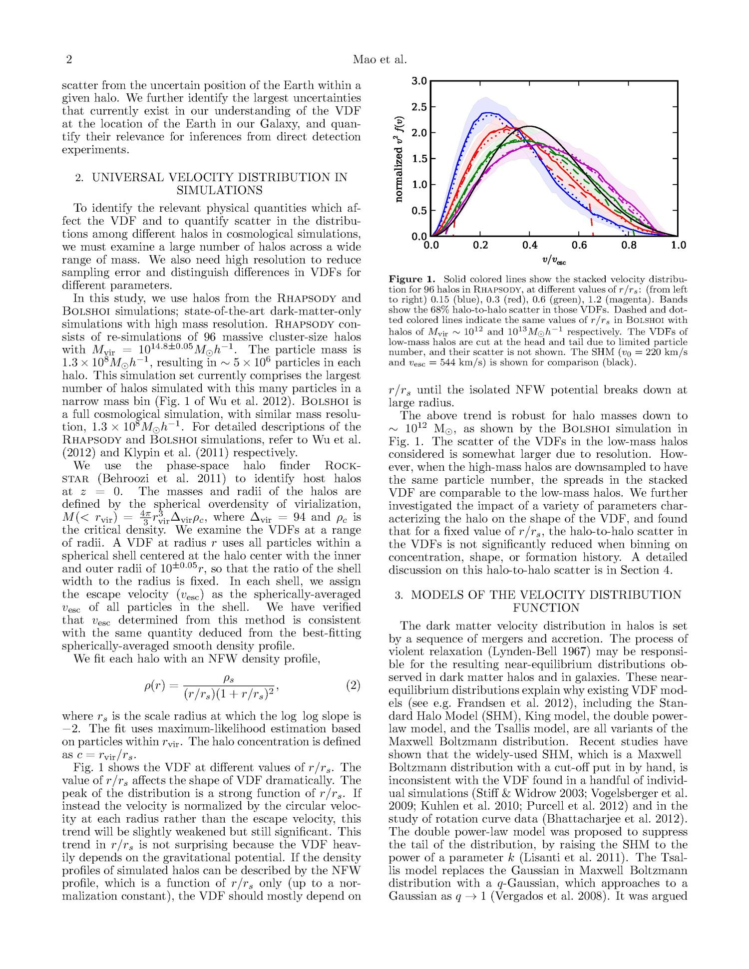 Halo-to-Halo Similarity and Scatter in the Velocity Distribution of Dark Matter                                                                                                      [Sequence #]: 2 of 6