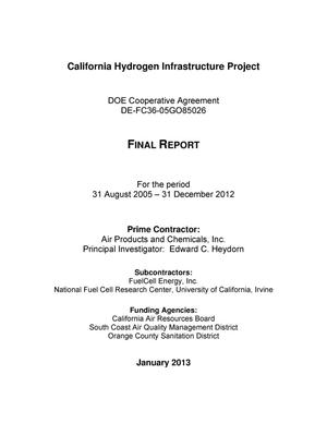 Primary view of object titled 'California Hydrogen Infrastructure Project'.
