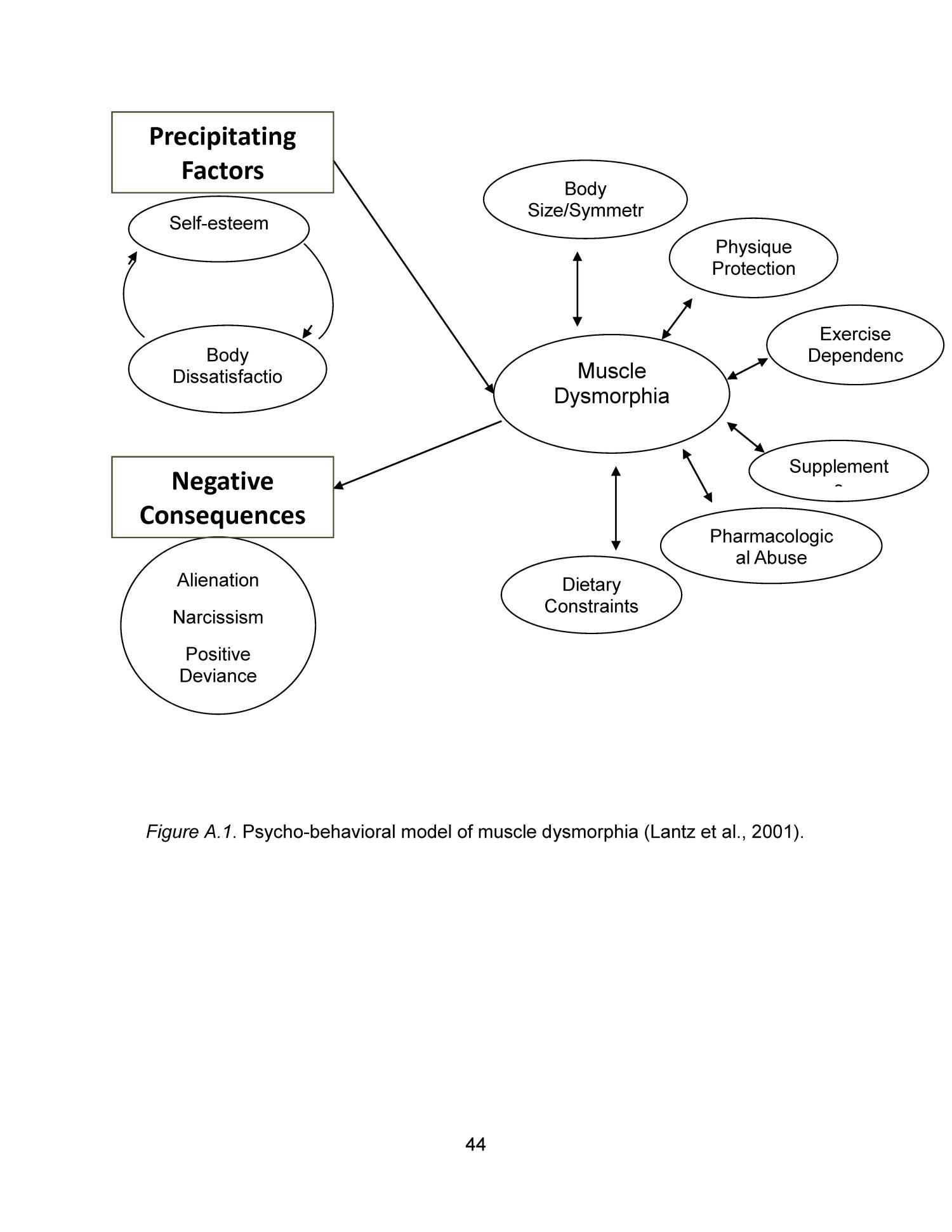 conceptual framework on self esteem