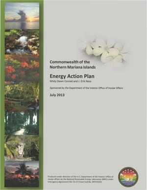 Primary view of object titled 'Commonwealth of the Northern Mariana Islands Energy Action Plan'.