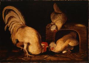 Primary view of object titled 'Farmyard Fowls'.