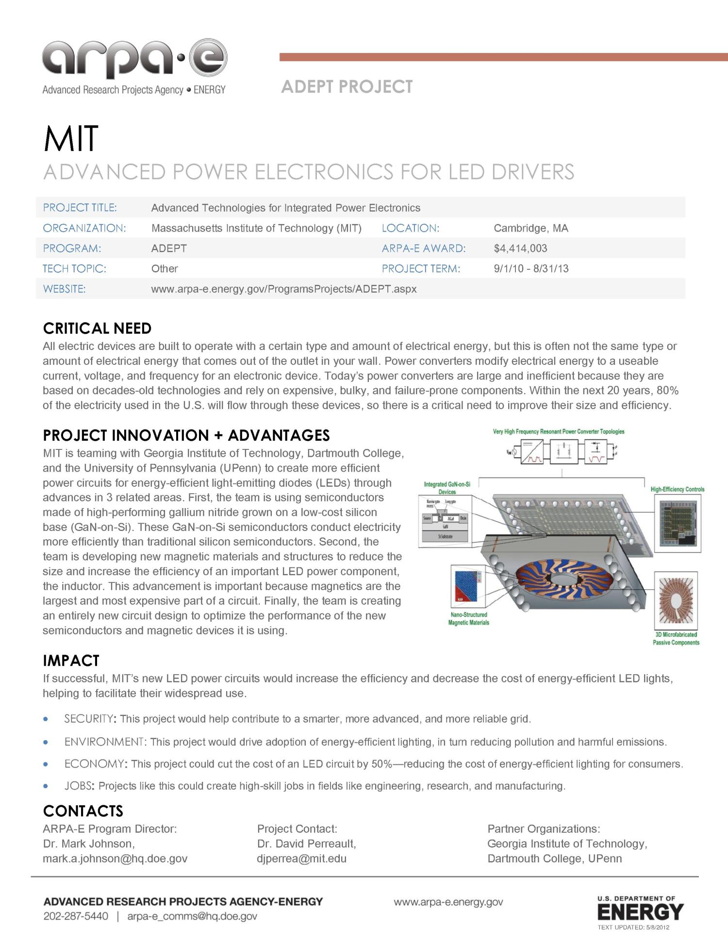 Advanced Power Electronics For Led Drivers Digital Library Circuit And Projects