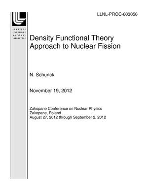 Primary view of object titled 'Density Functional Theory Approach to Nuclear Fission'.