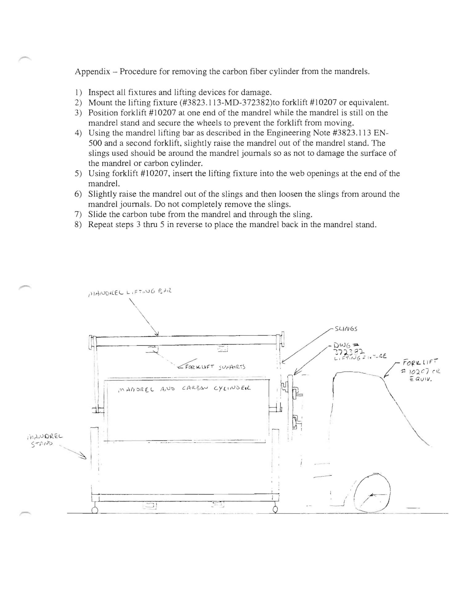 Analysis of a Lifting Fixture to Hold a Steel Mandrel Horizontally from one End Support                                                                                                      [Sequence #]: 6 of 17