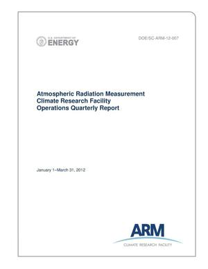 Primary view of object titled 'Atmospheric Radiation Measurement Climate Research Facility Operations Quarterly Report January 1–March 31, 2012'.