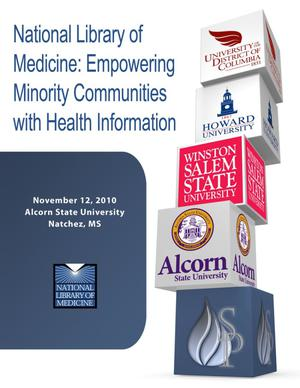 Primary view of object titled 'Empowering Minority Communities with Health Information - ASU'.