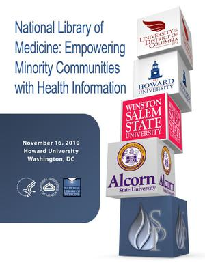 Primary view of object titled 'Empowering Minority Communities with Health Information - Howard'.