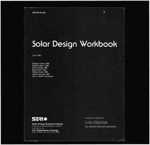 Primary view of object titled 'Solar Design Workbook'.