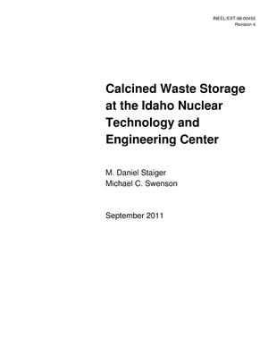 Primary view of object titled 'Calcined Waste Storage at the Idaho Nuclear Technology and Engineering Center'.