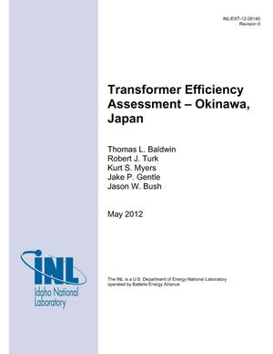 Primary view of object titled 'Transformer Efficiency Assessment - Okinawa, Japan'.