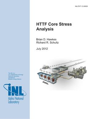 Primary view of object titled 'HTTF Core Stress Analysis'.