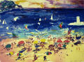 Artwork: Beach Scene