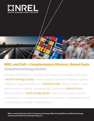 Primary view of object titled 'NREL and DoD - Complementary Missions, Shared Goals: Comprehensive Energy Solutions (Brochure)'.