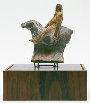 Primary view of object titled 'Horse and Rider'.