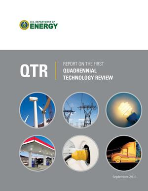 Primary view of object titled 'U.S. Department of Energy Report on the First Quadrennial Technology Review (QTR)'.