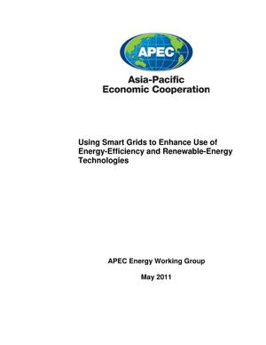 Primary view of object titled 'Using Smart Grids to Enhance Use of Energy-Efficiency and Renewable-Energy Technologies'.