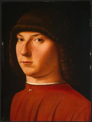 Primary view of object titled 'Portrait of a Young Man'.