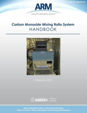 Primary view of object titled 'CO (Carbon Monoxide Mixing Ratio System) Handbook'.