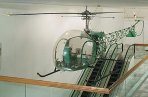 Bell 47D1 Helicopter, manufactured by Bell Helicopter Inc., USA
