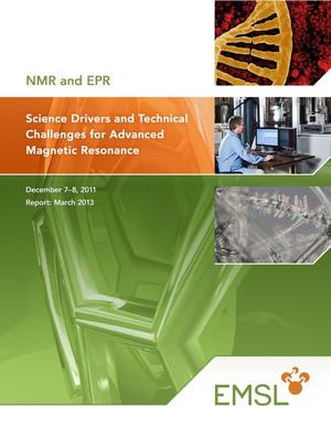 Primary view of object titled 'Science Drivers and Technical Challenges for Advanced Magnetic Resonance'.