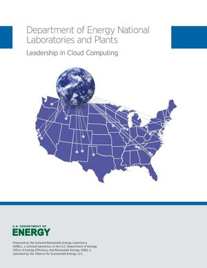Primary view of object titled 'Department of Energy National Laboratories and Plants: Leadership in Cloud Computing (Book)'.