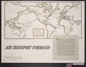 Primary view of object titled 'Newsmap for the Armed Forces : Air Transport Command'.