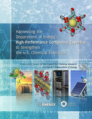 Primary view of object titled 'Harnessing the Department of Energy's High-Performance Computing Expertise to Strengthen the U.S. Chemical Enterprise'.