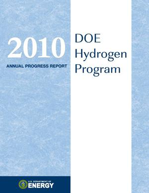 Primary view of object titled '2010 Annual Progress Report: DOE Hydrogen Program'.