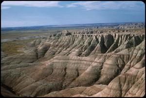 Primary view of object titled 'Badlands National Park - mountain landscape'.