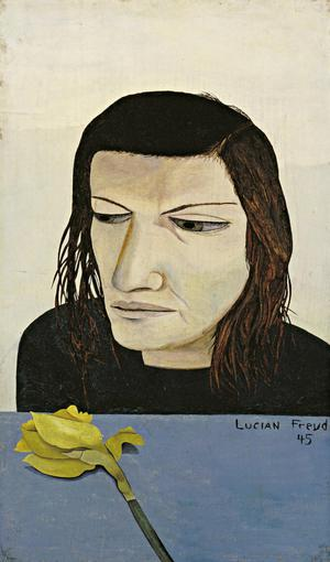 Primary view of object titled 'Woman with a Daffodil'.