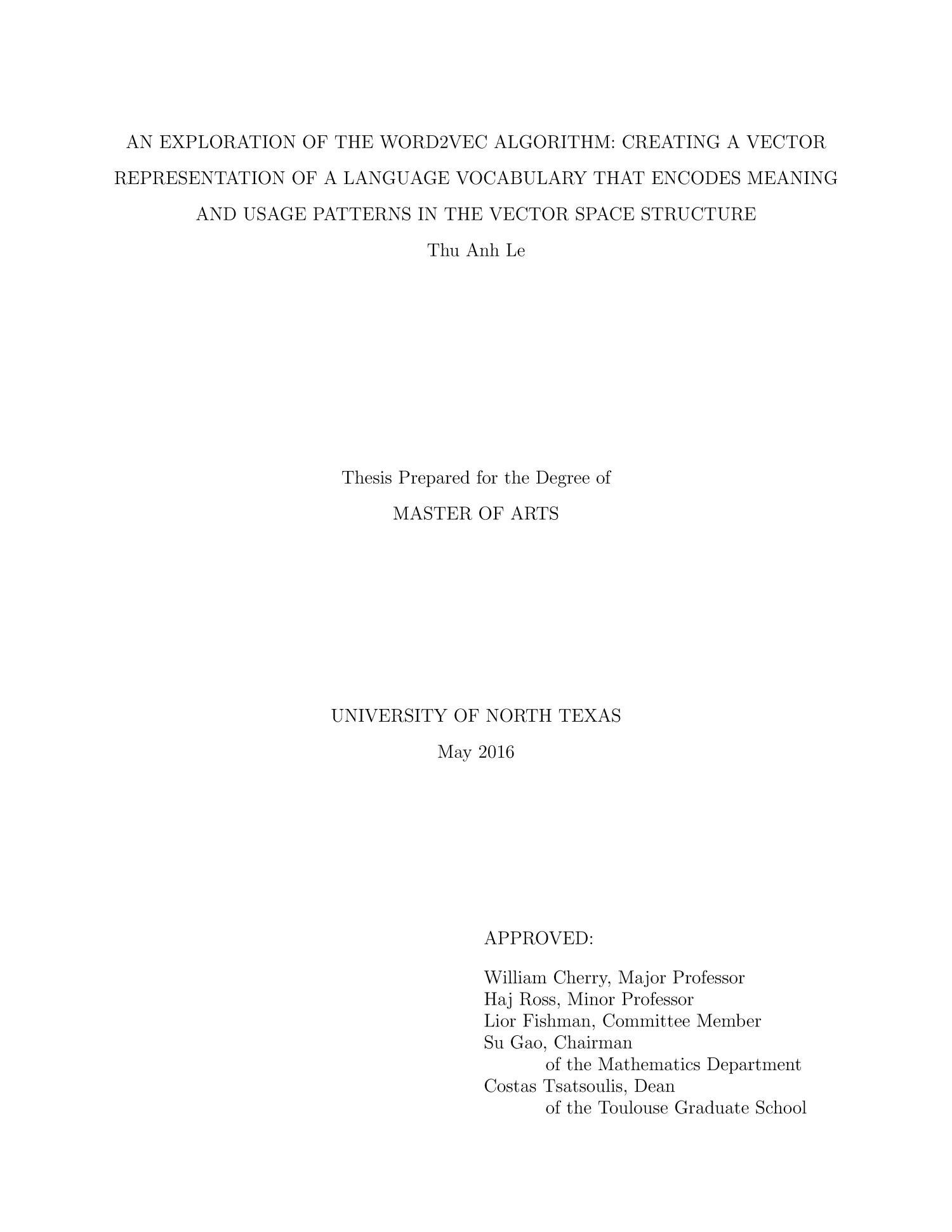 master thesis unemployment aploon