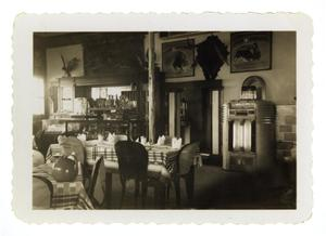 Primary view of object titled '[Plaza Cafe]'.