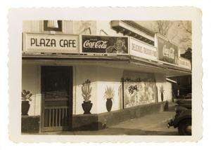 Primary view of [Plaza Cafe exterior]