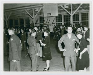 Primary view of object titled '[World War II dance]'.
