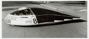 Primary view of object titled '[Centennial solar car 1990]'.