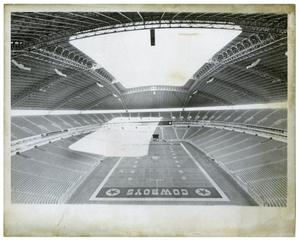 Primary view of object titled '[Inside of Texas Stadium]'.