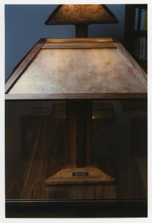Primary view of object titled '[Virginia L. Winker lamp 1]'.