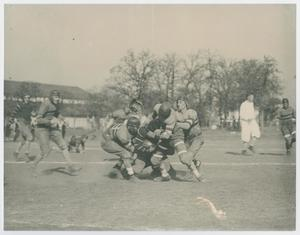 Primary view of [Photograph of football game]